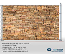 211 Series Pre-Printed - Stone Wall 1 (25' or 50' Rolls)