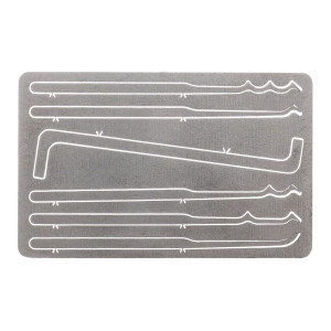Vigilant Gear® Titanium Entry Card 6-Piece