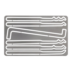 Vigilant Gear® Stainless Entry Card 6-Piece