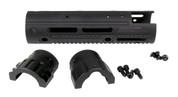 2150 AR15 8.5'' Ext. Carbine Length with Cutout, 8.1 oz with Hardware, Apex GatorGrip Handguard