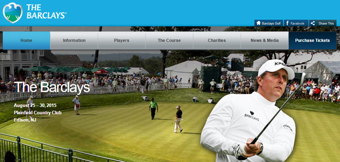 The Barclays Website