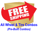 Free Shipping Wheel and Tire Combos