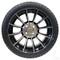 "15"" RHOX AC603 Machined/ Black Wheels and Innova Driver 205/35R-15"" DOT Tires Combo"