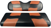 MADJAX Riptide Two Tone Front Seat Covers in Black/Brown -  Fits all Carts!