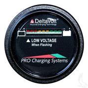 48V Dual Pro Round Battery Fuel Gauge