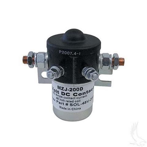 48-Volt/ 200 Amp Solenoid (48V/200A)