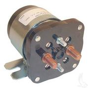 EZGO 48-Volt 4-Terminal Silver Solenoid (For EZ-GO Electric 48V)