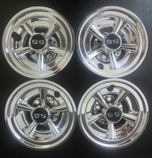"SS Chrome 8"" Wheel Covers"