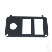 EZGO PDS Key Switch Console Plate w/ Forward/Reverse Switch & Vertical State of Charge Meter