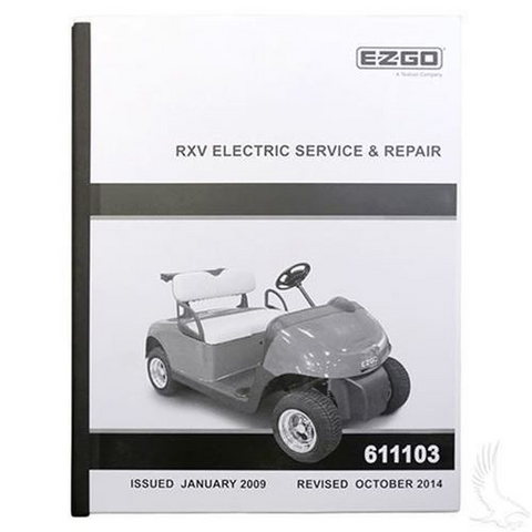 service manual for ezgo rxv electric golf cart tire supply rh golfcarttiresupply com Ezgo Golf Cart Troubleshooting Ezgo Golf Cart Bodies