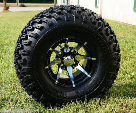 "10"" KRAKEN Wheel and 22"" All Terrain Tire Combo"