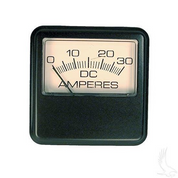30A Square gauge Ammeter (For Lester Chargers made After 12/1990)