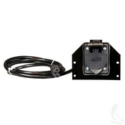 Club Car DS & Precedent AC Receptacle for Summit OnBoard Chargers (OBC)