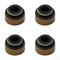 Club Car DS/ Precedent Valve Stem Seal - Set of 4 (For Gas 1992-2003 FE290, FE350)