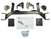 "6"" Drop Axle EZGO Golf Cart Lift Kit (GAS)"