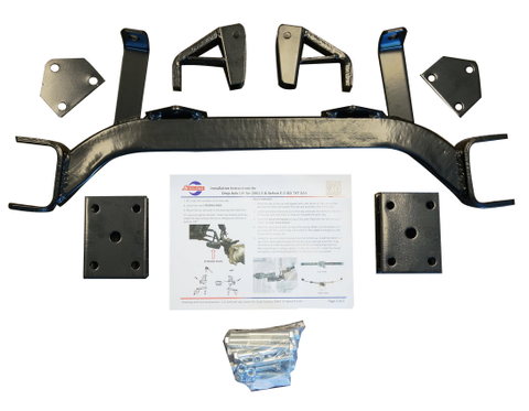 "6"" Drop Axle EZGO Golf Cart Lift Kit (GAS)"