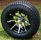 """12"""" KRAKEN Wheels and 23x10.5-12"""" Turf Tires Combo"""
