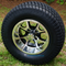 "12"" PREDATOR Wheels and 23x10.5-12"" Turf Tires Combo"