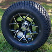 "12"" EUROSPORT Wheels and 23x10.5-12"" Turf Tires Combo"
