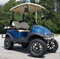 "14"" VECTOR Golf Cart Wheels and 23"" All Terrain Tires Combo"