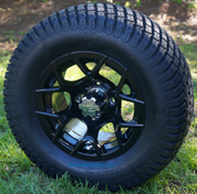 "12"" RALLY Wheels and 23x10.5-12"" Turf Tires Combo"