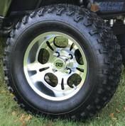 "12"" LIGHTSIDE Wheels and 23"" All Terrain Tires Combo"