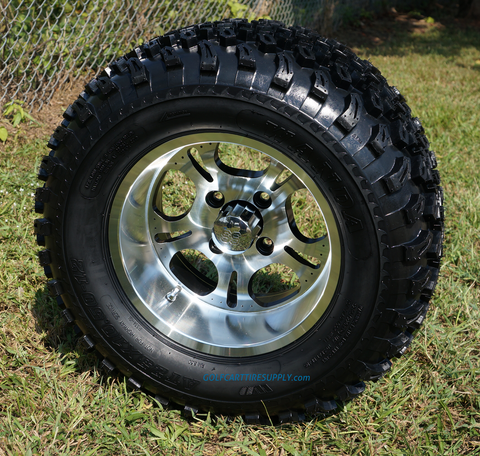 "12"" LIGHTSIDE Wheels and 23"" All Terrain Tires Combo"