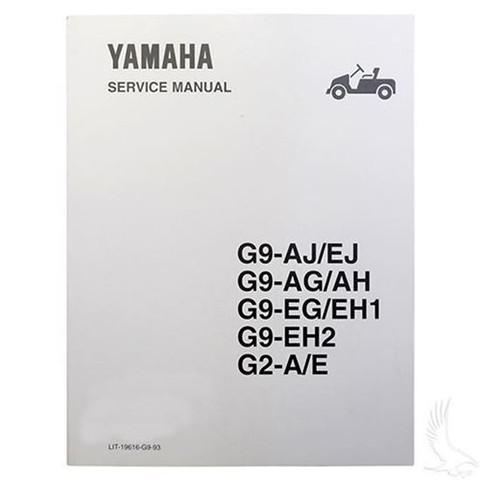 yamaha g2 g9 service manual for 1988 1994 golf cart tire supply rh golfcarttiresupply com yamaha g5 manual yamaha g2 parts manual