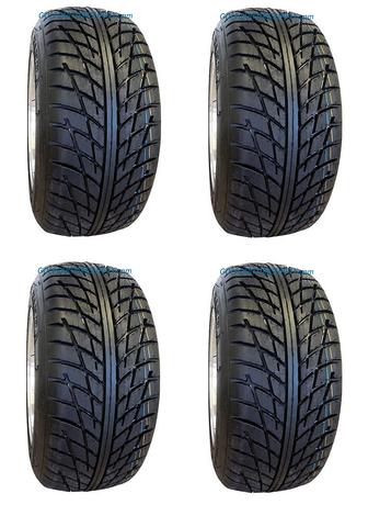 RHOX RXST 18x8-10 DOT Golf Cart Tires Set