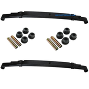 Club Car Precedent Heavy Duty Rear Leaf Springs Set (w/ Bushings) - Dual Action
