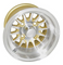"RHOX Phoenix 10"" Machined/ Gold Wheels 14 spoke"