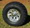 "10"" SILVER BULLET Wheels and 20x10-10"" All Terrain Tires"