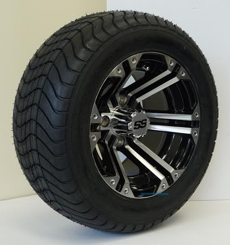 RHOX RX330 Wheels on RXLP 215/50-12 DOT Tires