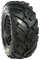 "ITP SS108 Black 12"" Wheels and 23"" DURO Fuse Tires"