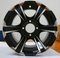 """12"""" BLADE Golf Cart Wheels and 215/40-12 Low Profile Golf Cart Tires"""