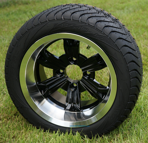 """12"""" TRANSFORMER Wheels and 215/40-12 Low Profile Tire Combo"""