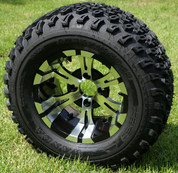 "12"" VAMPIRE Wheels and 23"" All Terrain Tires Combo"