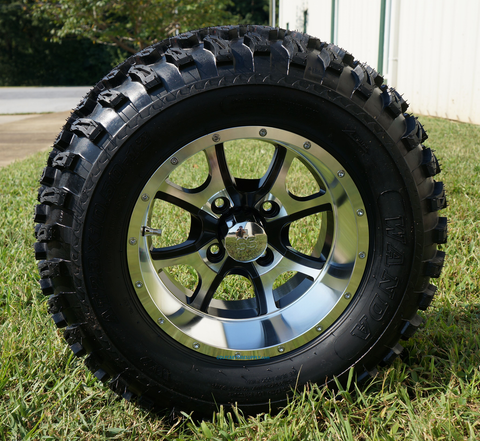 "12"" PREDATOR Wheels and 23"" All Terrain Tires"