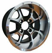 "PREDATOR 12"" Golf Cart Wheels"