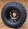 "10"" BLACK Steel Wheels and 20x10-10"" All Terrain Tires Combo"