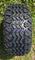 "10"" VAMPIRE Golf Cart Wheels and 20x10-10 DOT All Terrain Tires"