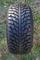 "10"" VAMPIRE Gunmetal Golf Cart Wheels and 205/50-10 DOT Low Profile Golf Cart Tires Combo - Set of 4"