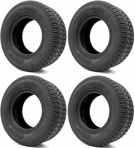ARISUN 205/65-10 DOT Golf Cart Tires - Street Cruze - Set of 4
