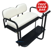 Yamaha Golf Cart Rear Seat Kit for G14 / G16 / G19 / G22 - IVORY