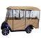 """Deluxe Driveable Golf Cart Enclosure - For 88"""" Cart Top"""