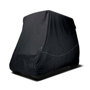 Black Golf Cart Storage Cover - For Standard Top Carts
