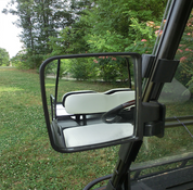 Golf Cart Side View Mirrors - Set of 2 (Passenger and Driver's Side)