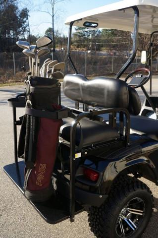 Universal Golf Cart Bag Holder/ Bracket Attachment For Golf Cart Rear Seat