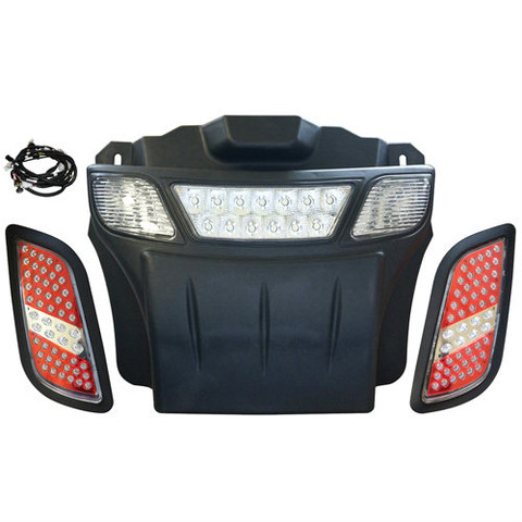 EZGO RXV LED Light Bar Bumper Kit (Basic LED Golf Cart Light Kit)