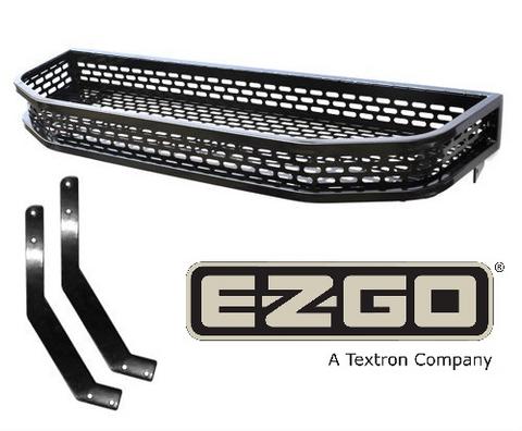 EZGO TXT Heavy Duty Golf Cart Front Clays Basket